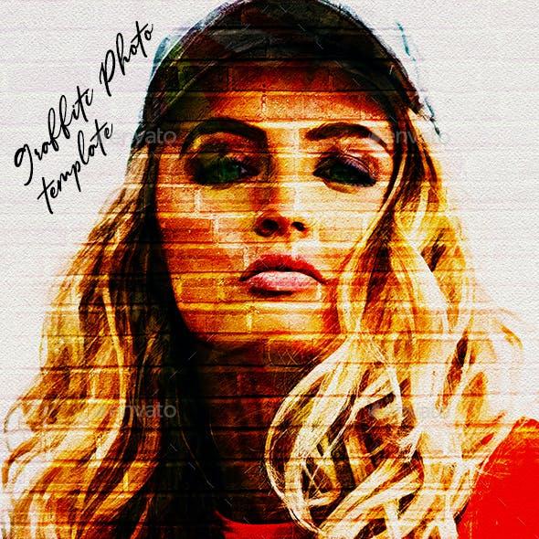 Graffiti Effects Photo Template