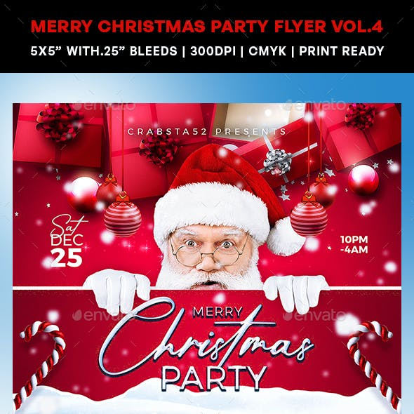 Merry Christmas Party Vol.4