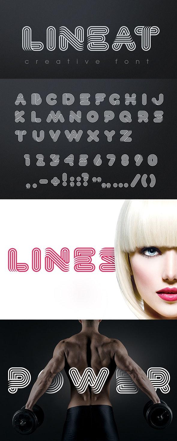 Lineat Font - Miscellaneous Decorative