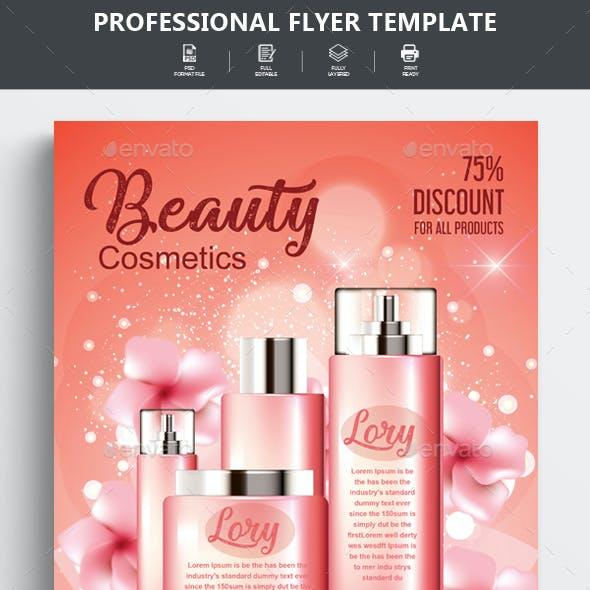 Beauty Cosmetics Poster Templates