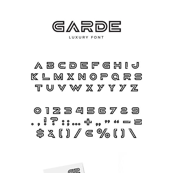 Garde Font