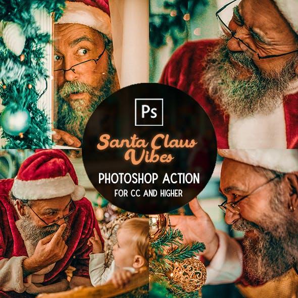 Santa Claus Vibes - Photoshop Action