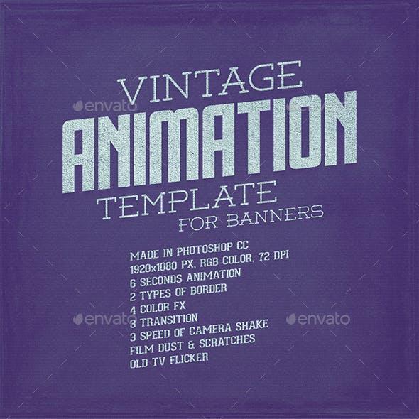 Vintage Animation Template
