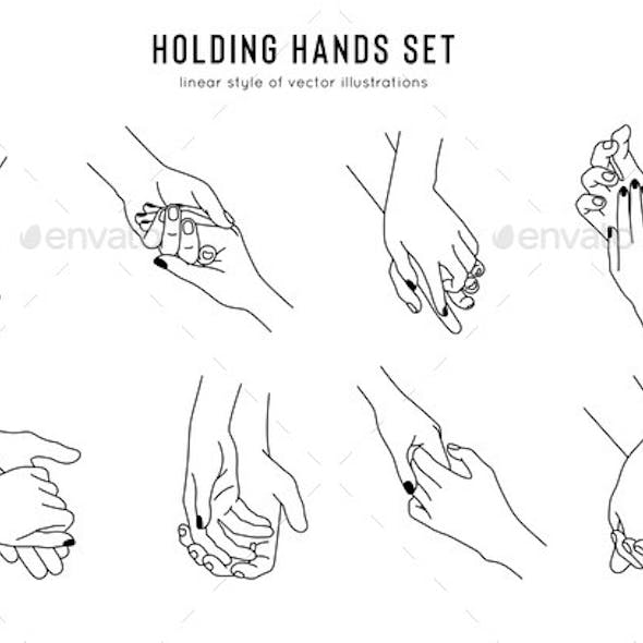 Friendship and Lovers Hand Gestures in Linear