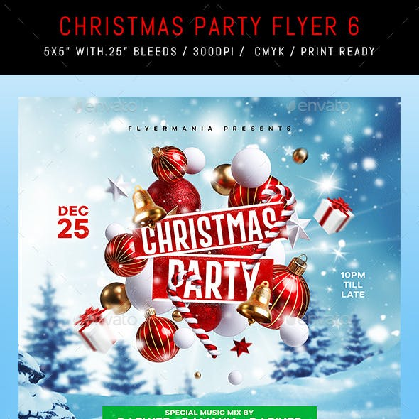 Christmas Party Flyer 6