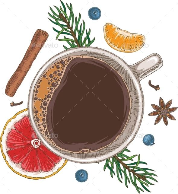 Christmass Coffee - Halloween Seasons/Holidays