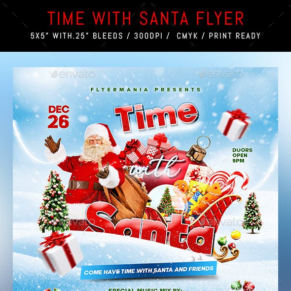 Time With Santa Flyer