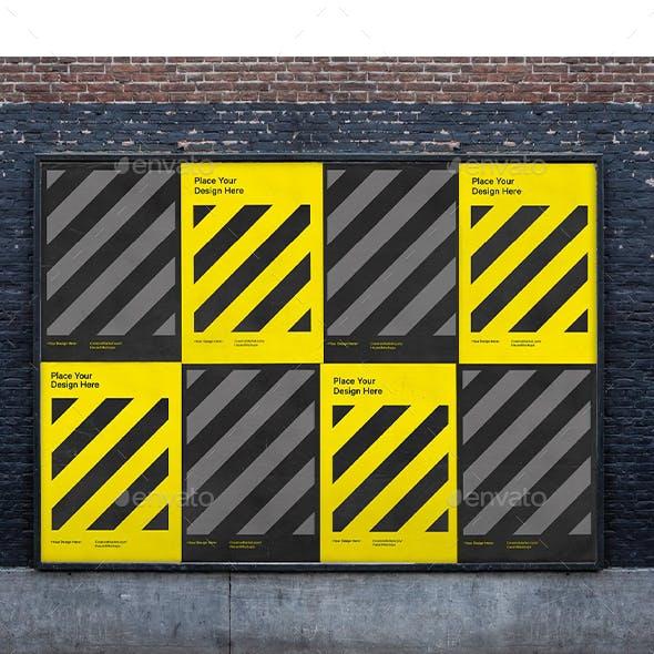 Urban City Poster Mockup