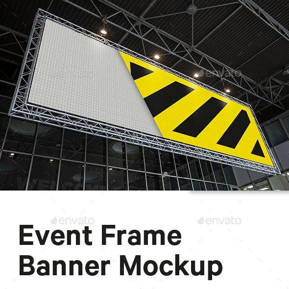 Event Frame Banner Mockup
