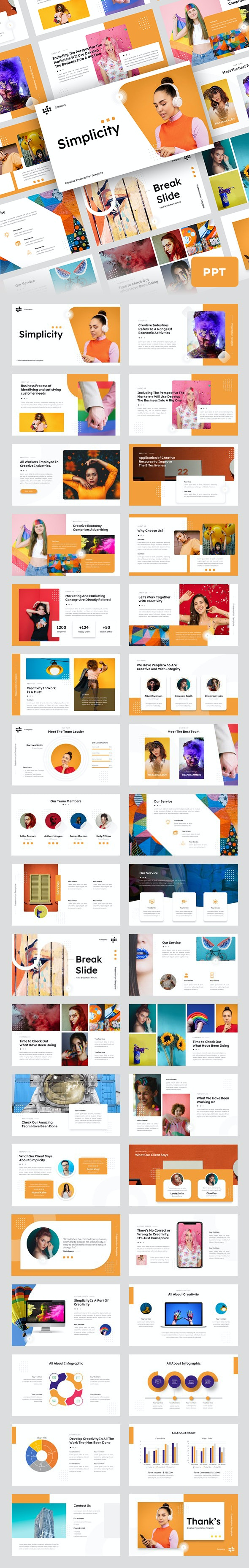 Simplicity - Creative Business Presentation Template