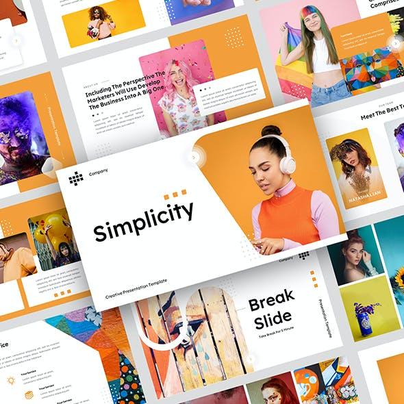 Simplicity - Creative Business Presentation Template
