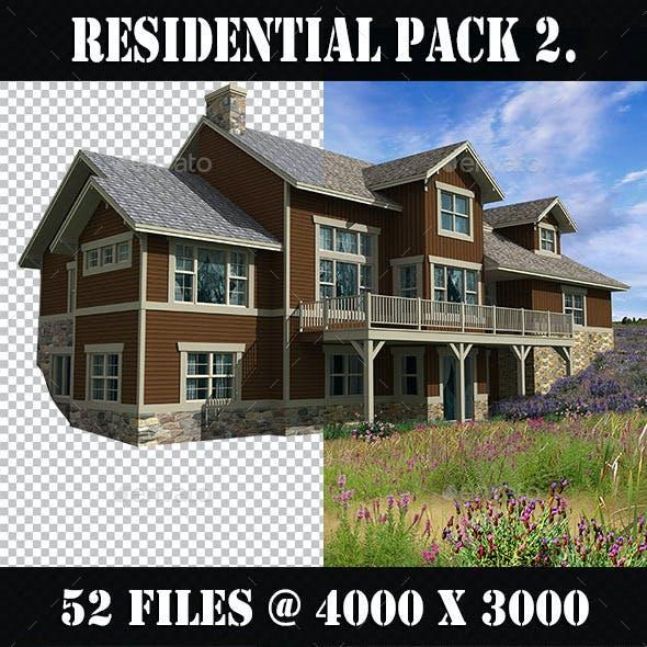 Residential Houses Pack 2.