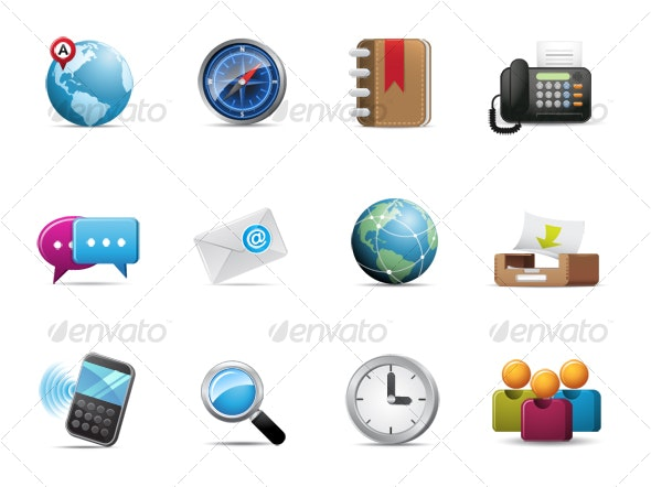 Qicon series | Web and Communication icons - Web Icons