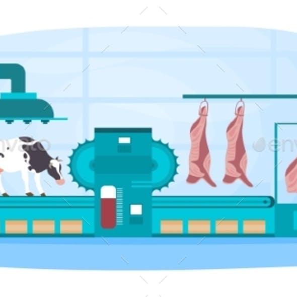 Automated Meat Production Process