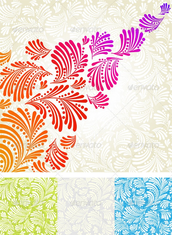 Abstract background and seamless abstract texture - Backgrounds Decorative