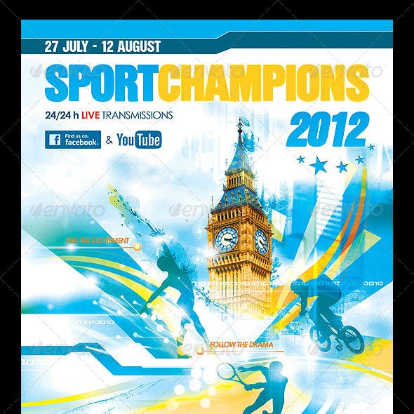 Summer Games Poster/Flyer
