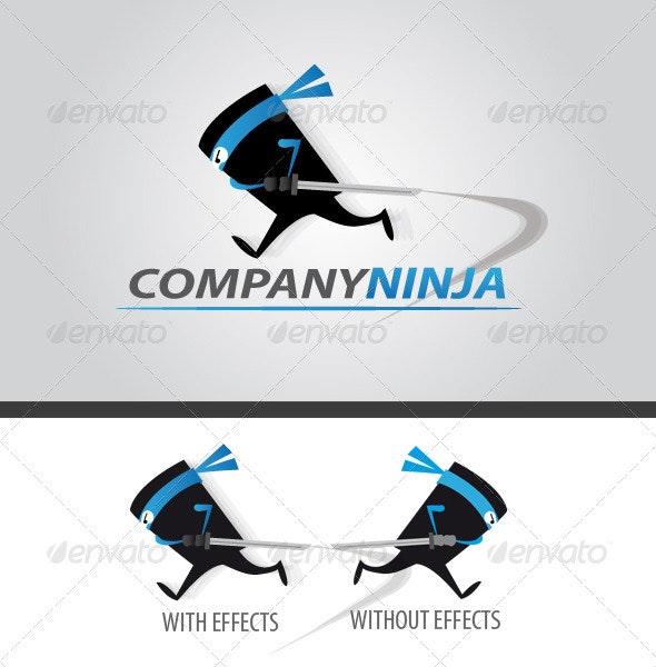 Company Ninja Logo  - Humans Logo Templates