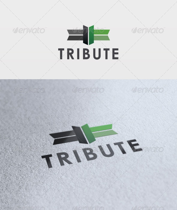 Tribute Logo - Vector Abstract
