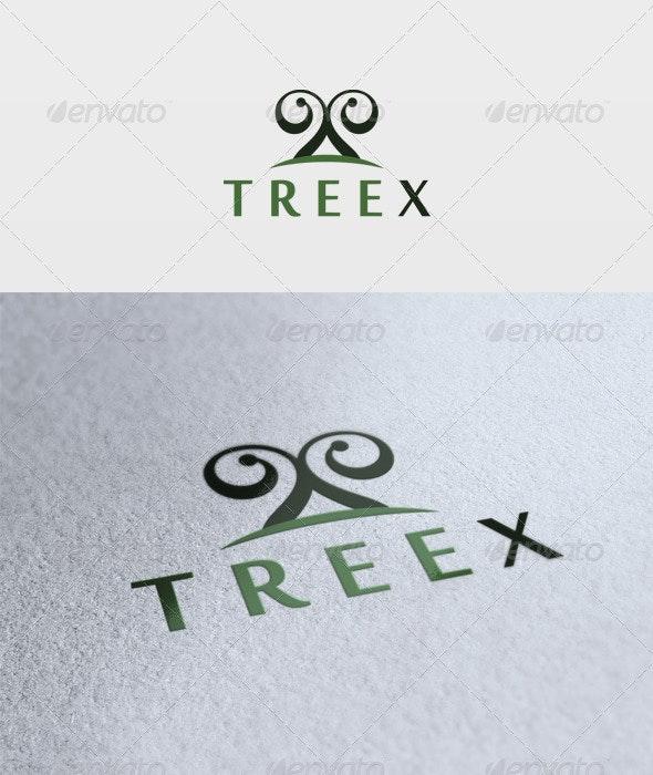 Treex Logo - Letters Logo Templates