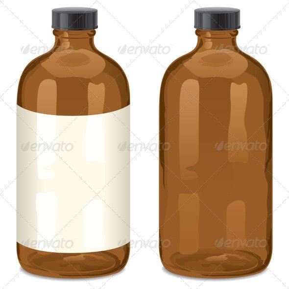 Bottle - Man-made Objects Objects