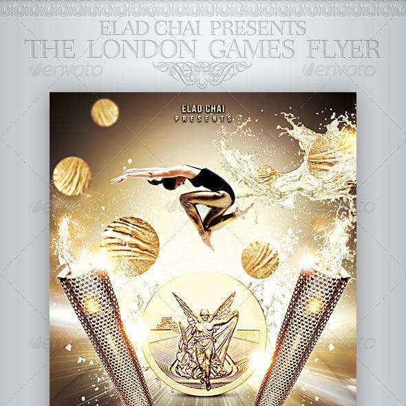 The Athletics Games Sports Flyer