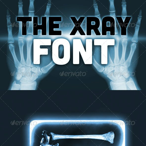 The X-Ray Font