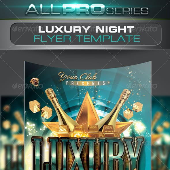 Luxury Night Flyer Template