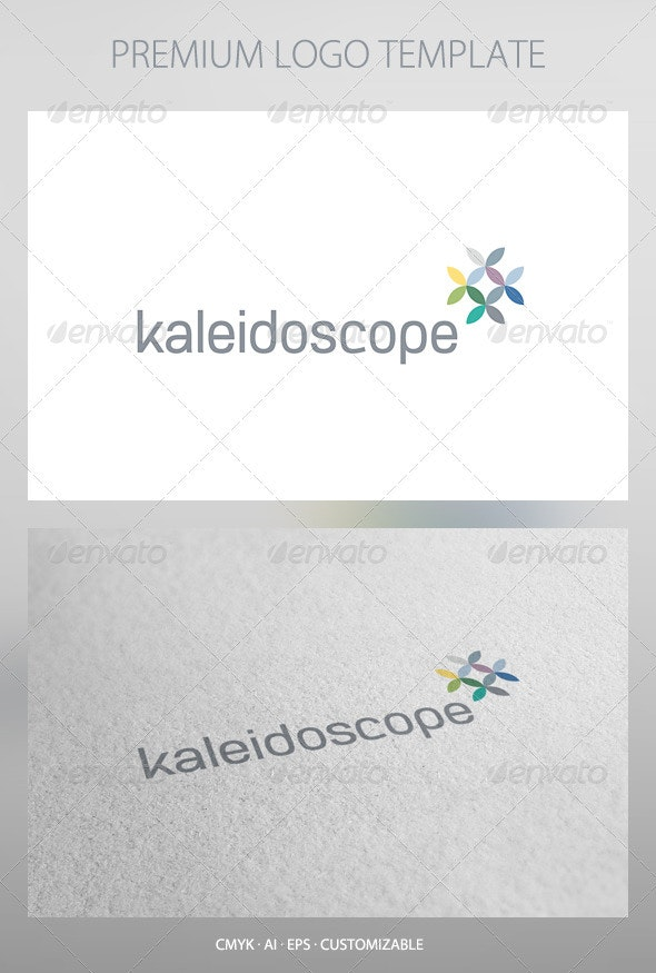 Kaleidoscope Logo Template - Abstract Logo Templates