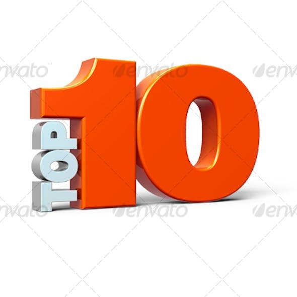 TOP 10 - 3D