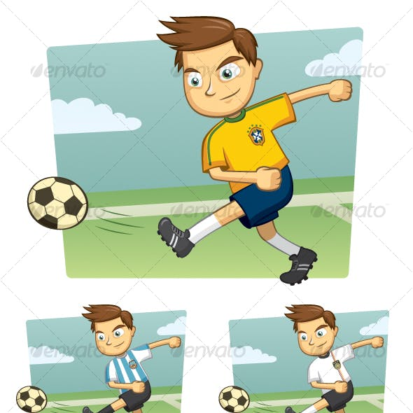 World Cup Soccer Player