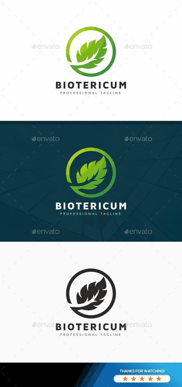 Bio Leaves Logo - Nature Logo Templates