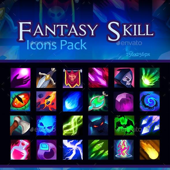 Fantasy Skill Icons Pack