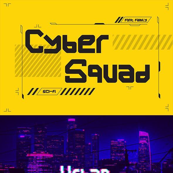 Cyber Squad font