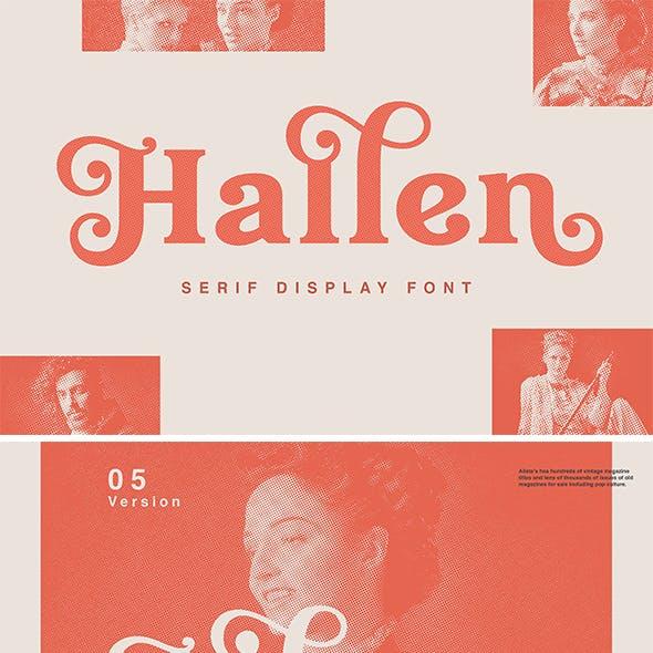 Hallen - Fashionable Font