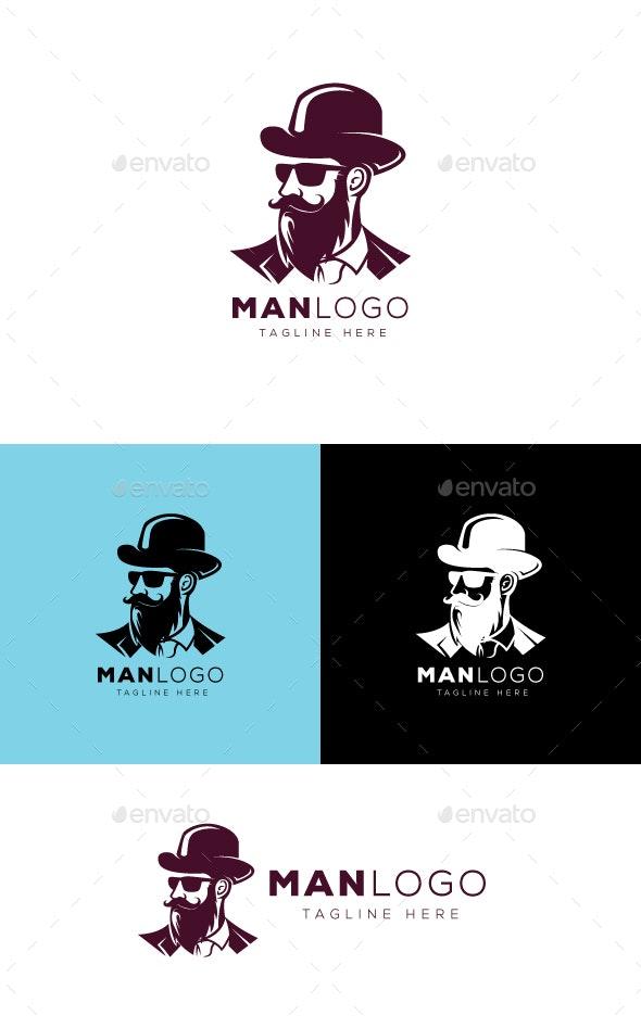 Man Logo - Humans Logo Templates