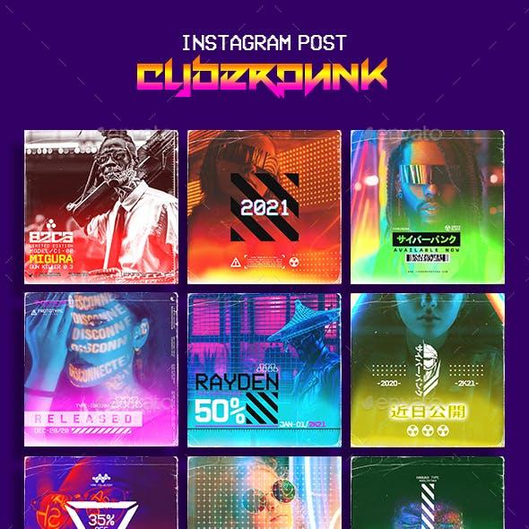 Cyberpunk Instagram Template