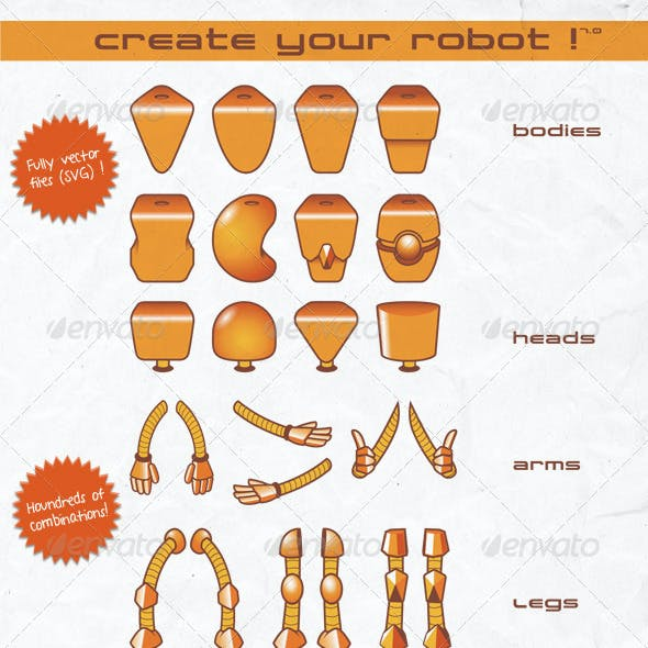 Create Your Robot !