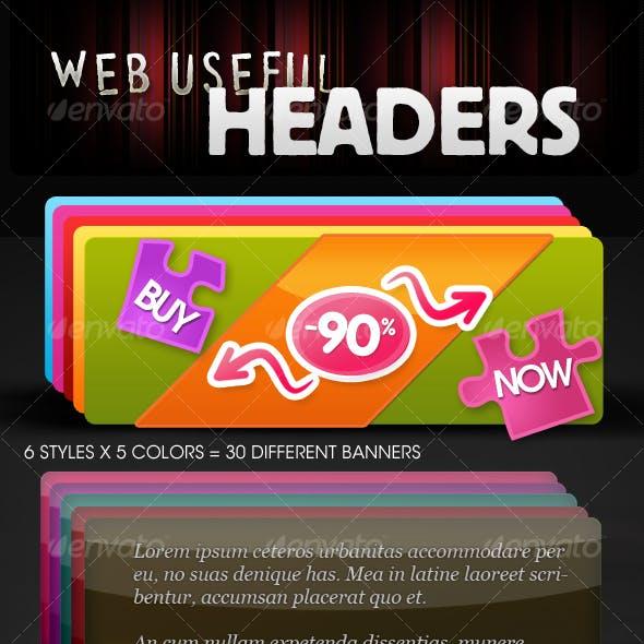 Web Useful Headers