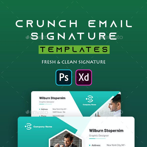 Crunch | Email Signature Template