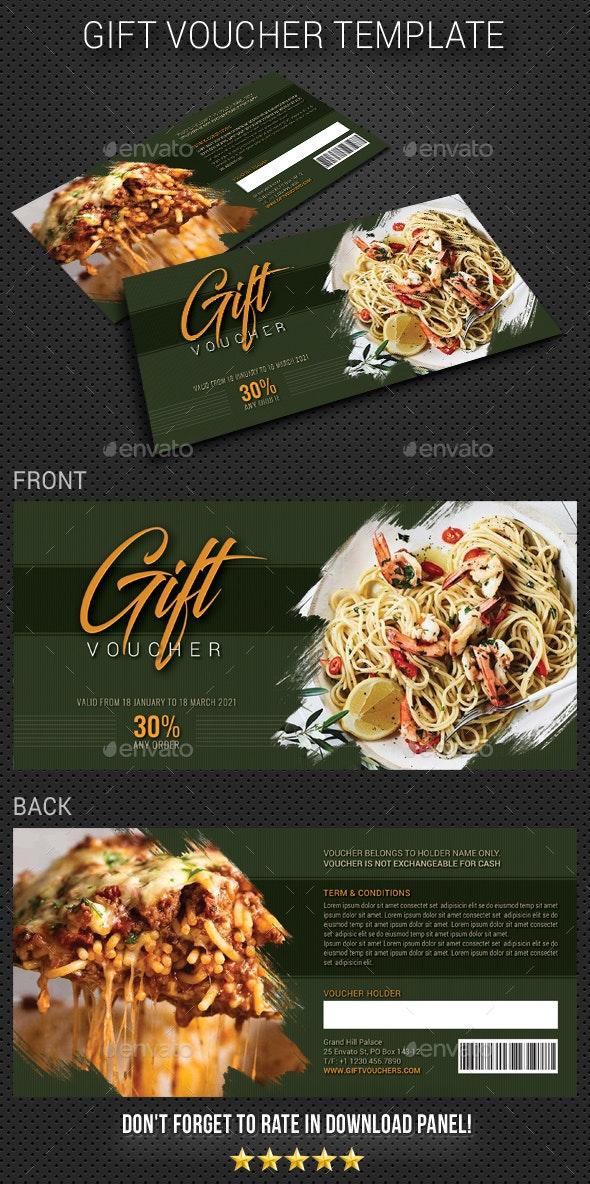Gift Voucher V19 - Cards & Invites Print Templates