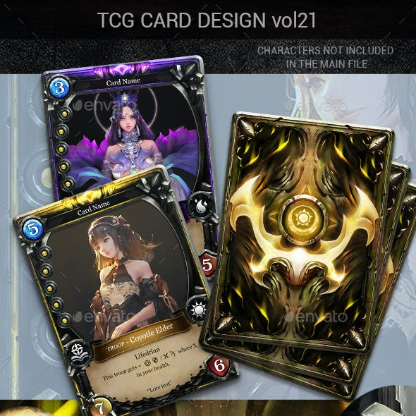 TCG Card Design Vol 21