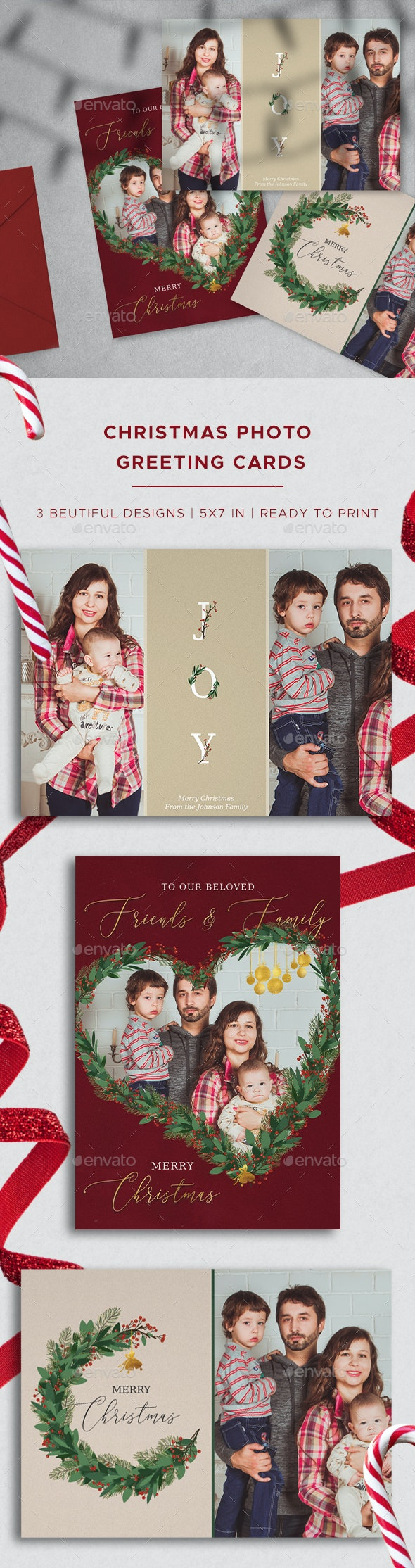 Christmas Photo Greeting Cards - Holiday Greeting Cards