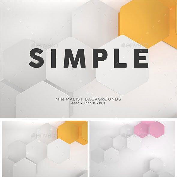 Simple Shape Backgrounds 1