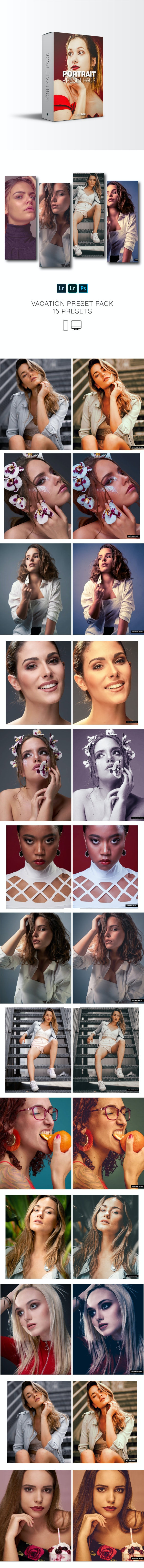 Pro Portrait Lightroom Presets (Mobile and Desktop) - Portrait Lightroom Presets