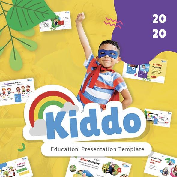Kiddo Education PowerPoint Presentation Template