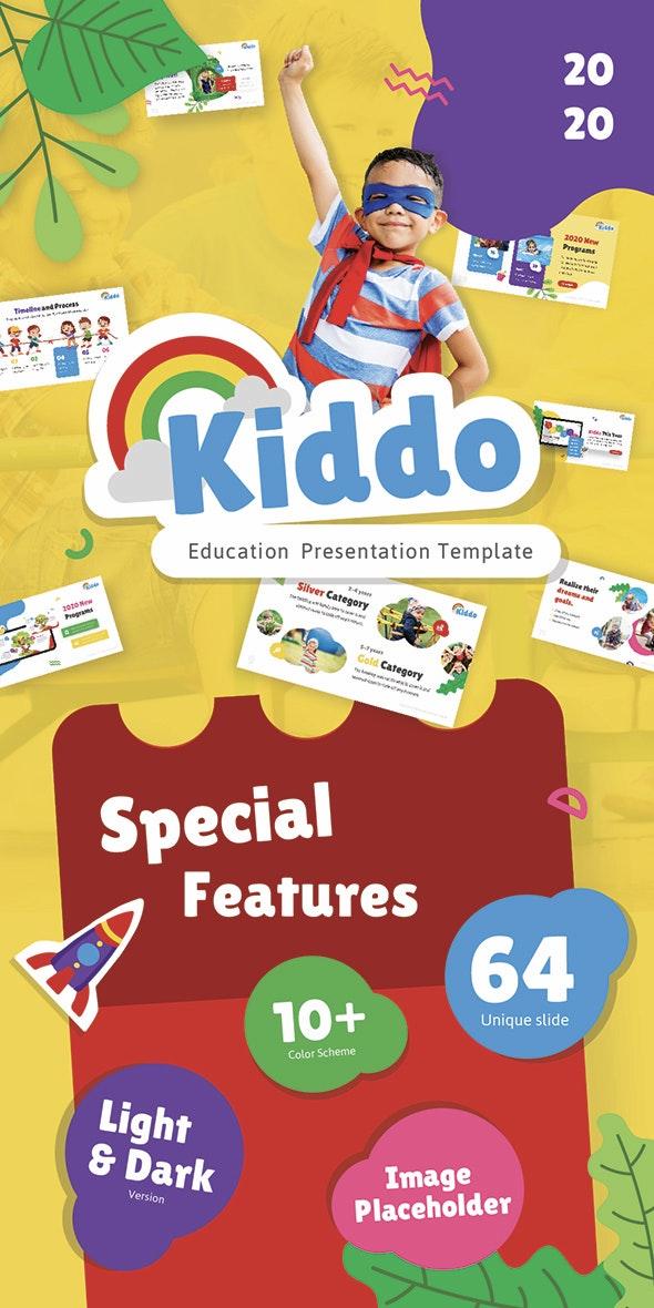 Kiddo Education PowerPoint Presentation Template - Creative PowerPoint Templates