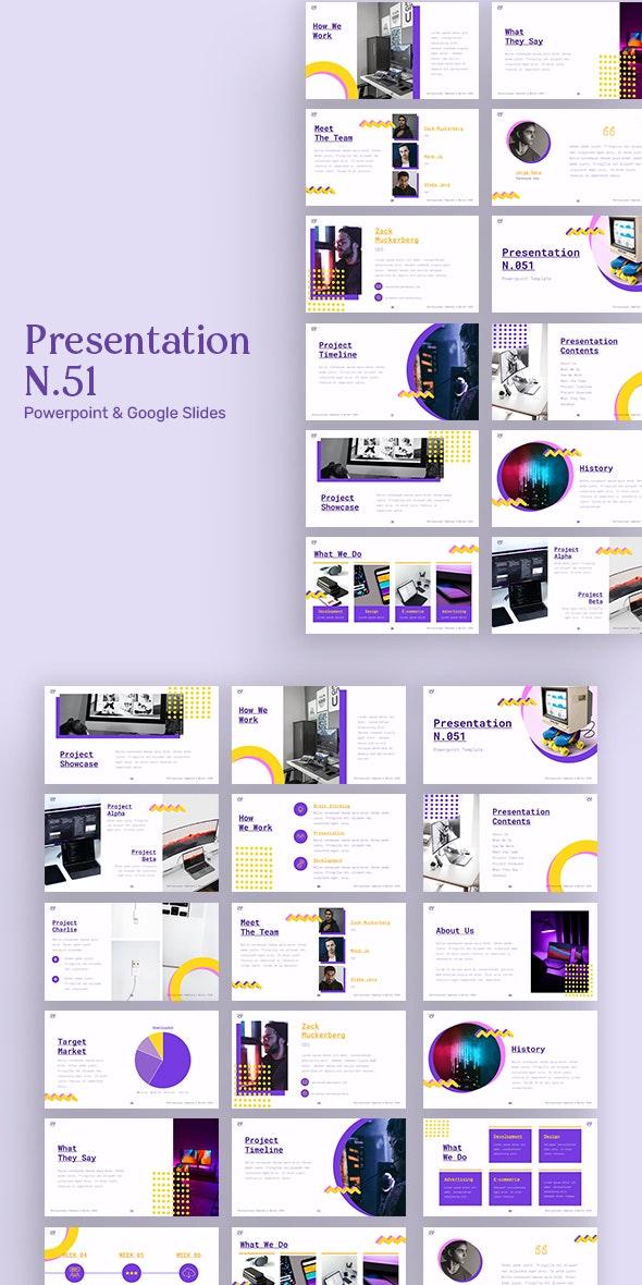 Presentation N51 - Creative PowerPoint Templates