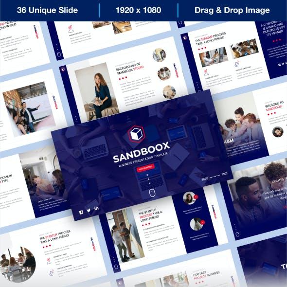 Sandboox - Business PowerPoint Presentation Templates