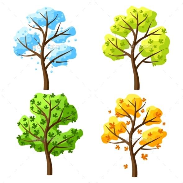 Four Seasons Trees.