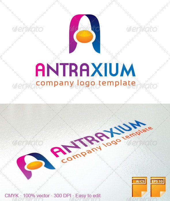 A Letter Logo 102 - Letters Logo Templates